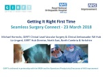 GETTING IT RIGHT FIRST TIME – reducing variation, improving patient outcomes