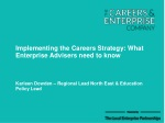 Implementing the Careers Strategy: What Enterprise Advisers need to know