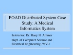 POAD Distributed System Case Study: A Medical Informatics System