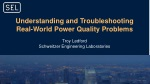 Understanding and Troubleshooting Real-World Power Quality Problems