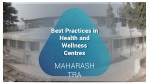 Best Practices in Health and Wellness Centres