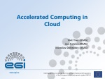 Accelerated Computing in Cloud