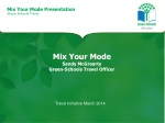 Mix Your Mode Sandy McGroarty Green-Schools Travel Officer