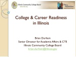 College & Career Readiness in Illinois