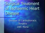Surgical Treatment of Ischaemic Heart Disease