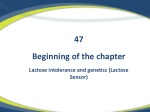 Beginning of the chapter