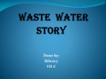 WASTE WATER STORY