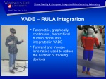 VADE – RULA Integration