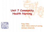 Unit 7 Community Health Nursing