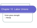 Chapter 10 Labor Unions
