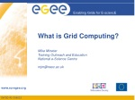 What is Grid Computing?