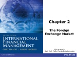 Chapter 2 The Foreign Exchange Market