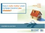 Does it  really matter which mortgage insurance  you  choose ?