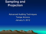 Sampling and Projection