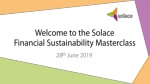 Welcome to the Solace Financial Sustainability Masterclass