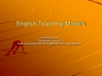 English Teaching Models
