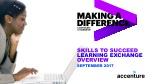 Skills to Succeed Learning Exchange Overview