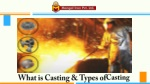 What is Casting & Types of Casting