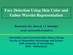 Face Detection Using Skin Color and Gabor Wavelet Representation