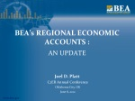 BEA's REGIONAL ECONOMIC ACCOUNTS :
