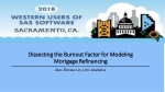 Dissecting the Burnout Factor for Modeling Mortgage Refinancing