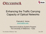 Enhancing the Traffic Carrying Capacity of Optical Networks