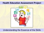 Health Education Assessment Project