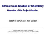 Ethical Case Studies of Chemistry