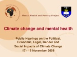 Climate change and mental health