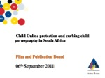 Child Online protection and curbing child pornography in South Africa