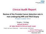Clinical Audit Report