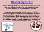 Raspberry Dr Oz