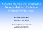 Daniel McGehee, PhD University of Chicago Department of Anesthesia & Critical Care