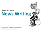 By Jeanne Acton, UIL & ILPC Journalism Director and Vicki McCash Brennan, MA, CJE