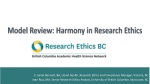 Model Review: Harmony in Research Ethics