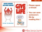 Please spare a minute You can save someone's life by reading this !