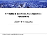 Reynolds: E-Business: A Management Perspective