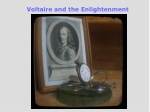 Voltaire and the Enlightenment
