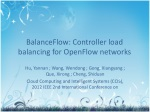 BalanceFlow: Controller load balancing for OpenFlow networks