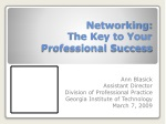 Networking: The Key to Your Professional Success