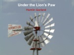 Under the Lion's Paw