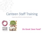 Canteen Staff Training