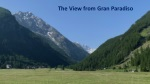 The View from Gran Paradiso