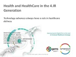 Health and HealthCare in the 4.IR Generation