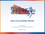 State Accountability Results