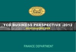 TCD BUSINESS PERSPECTIVE -2012 AN ACCOUNTING VIEW