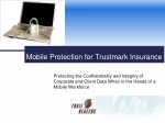 Mobile Protection for Trustmark Insurance