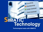 Technological tasks with SIMATIC