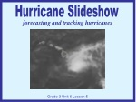 forecasting and tracking hurricanes