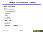 Chapter 13. Local Area Network Technology
